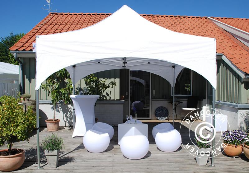 Tentes Pliantes FleXtents avec toit au style voûté exclusif