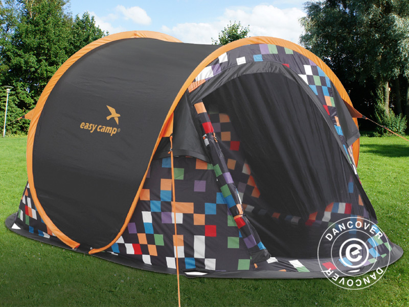 Tente de camping pour les grandes vacances