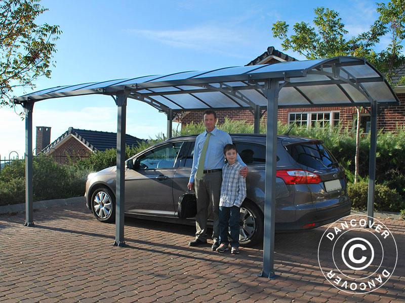 Un abri pour voiture de Dancover protège votre voiture chaque jour