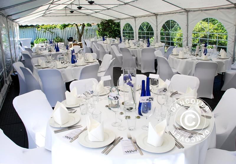 Tables et chaises de réception pour tous les évènements