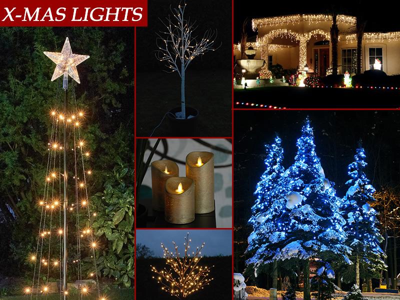 Lumières de Noël pour créer l'esprit de Noël