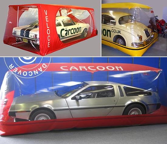 Carcoon and Bikebubble – solution de stockage premium