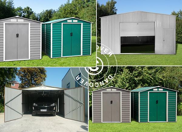 Garages en métal – la solution de stockage durable et sécurisée