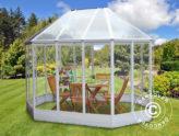 Kiosque de jardin pour faire pousser des fleurs et se relaxer