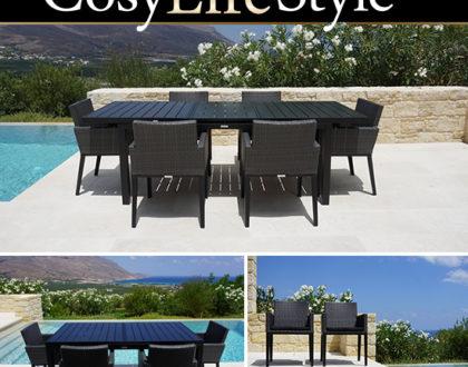 Tables et chaises pour des diners agréables et confortables