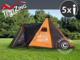 Tentes de camping de TentZing® Xplorer — grande fonctionnalité, design et confort.