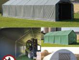 Tentes de stockage pour des solutions de stockage flexibles et abordables
