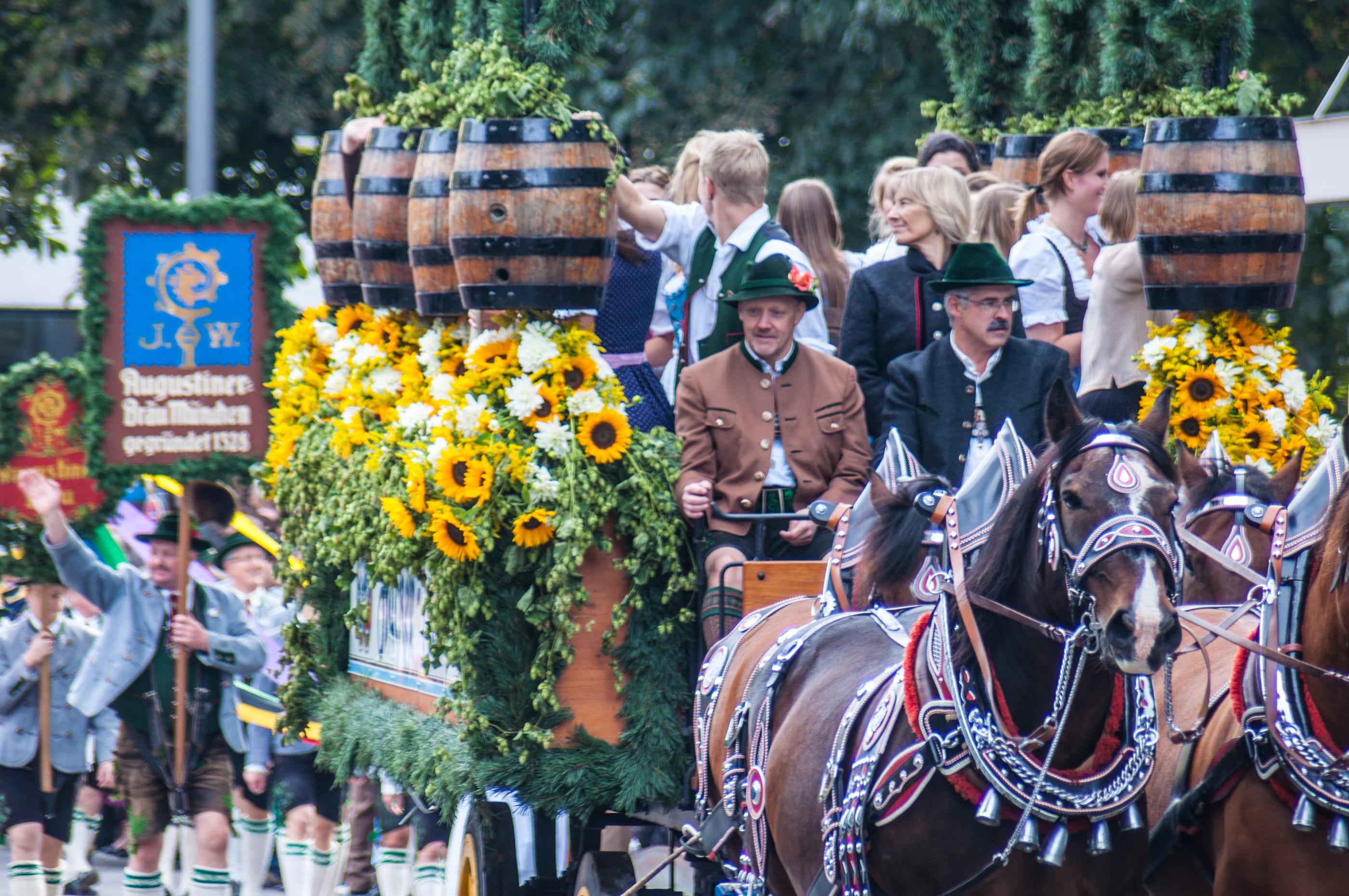L'Oktoberfest est la fête de l'année!