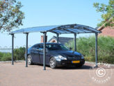 Abris d'auto et toits de terrasse — protection légère et élégante